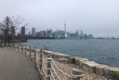 Toronto's Trillium Park in the winter | A. Archer